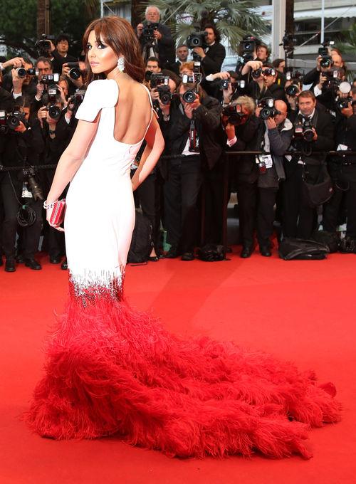 Cheryl Cole zeigte sich atemberaubend in Cannes