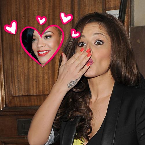 Cheryl Cole ist ganz in Rihanna verliebt