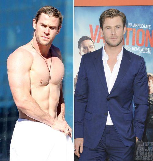 Chris Hemsworth will schnell Gewicht verlieren
