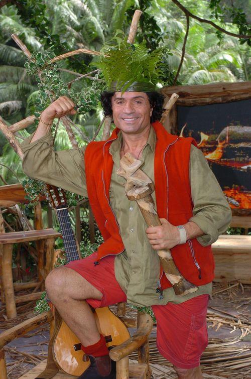 Costa Cordalis hat sich den ersten Teilsieg beim Sommer-Dschungelcamp geholt
