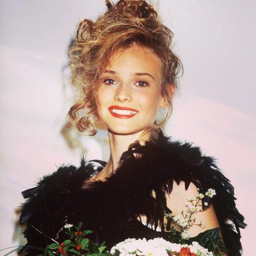 Diane Kruger zeigte sich jüngst als 15-jähriges Mädchen