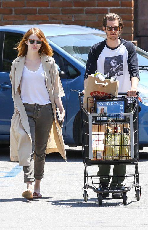 Nach Monaten zeigten sich Emma Stone und Andrew Garfield endlich wieder zusammen