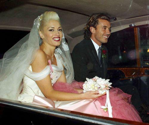 Gwen Stefani und Gavin Rossdale feierten 2002 eine richtig kitschige Hochzeit