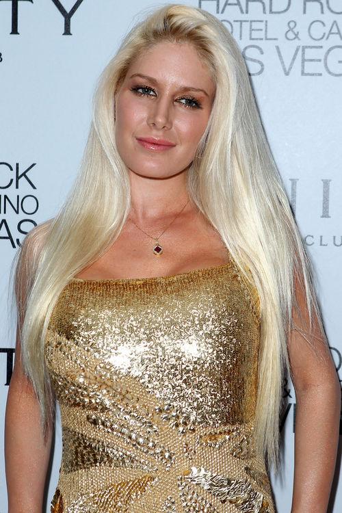 Heidi montag in einem goldenen kleid r2