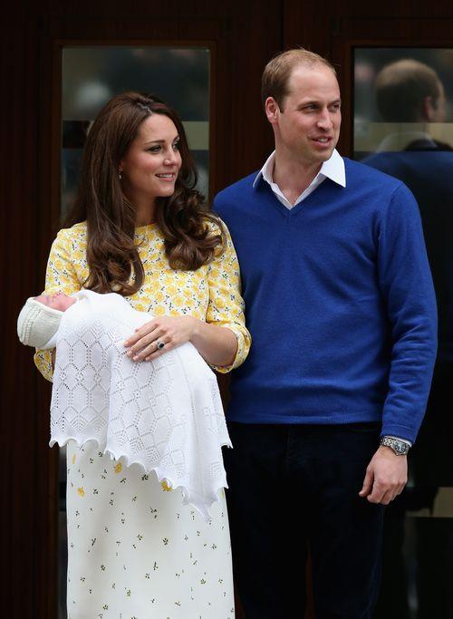 Prinz William und Herzogin Kate haben den Namen ihrer Tochter noch nicht verraten