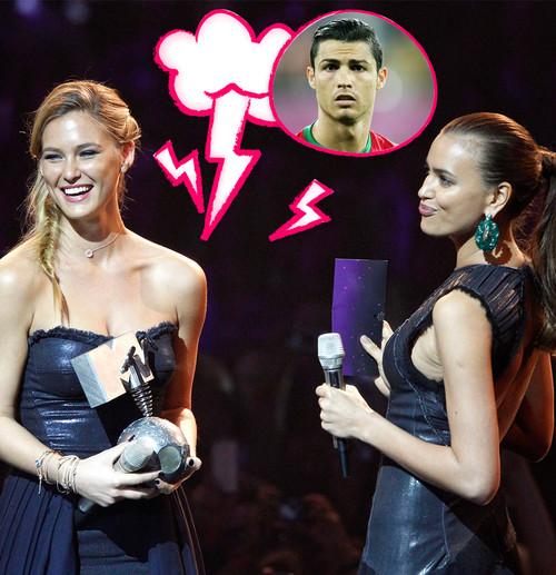 Irina Shyk und Bar Rafaeli haben sich auf Twitter gestritten