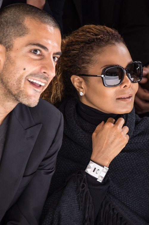 Janet Jackson und Wissam Al Mana besuchten die Paris Fashion Week