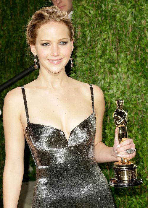 Jennifer Lawrence konnte sich über ihren ersten Oscar freuen