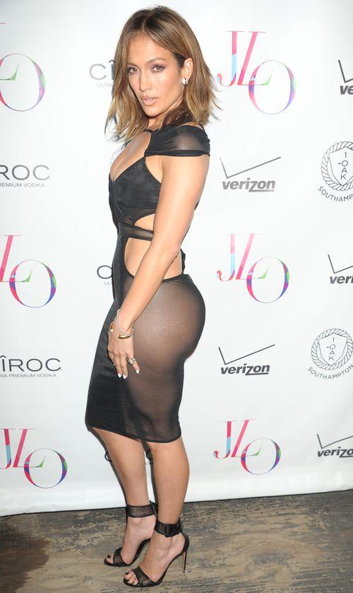 Jennifer Lopez zeigte sich jetzt im transparenten Kleid