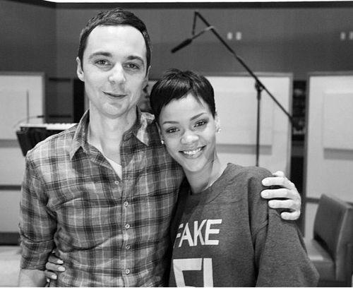 Jim Parsons und Rihanna arbeiten zusammen für einen Film