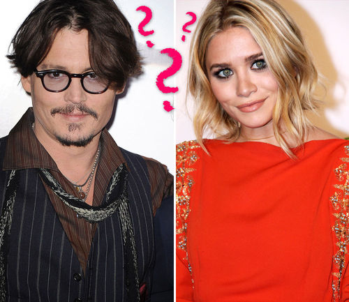 johnny depp ashley olsen heimliche affare