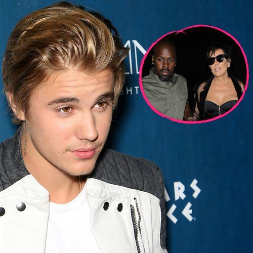 """Justin Bieber betitelte Kris Jenner und Corey Gamble als """"das heißeste Paar"""""""
