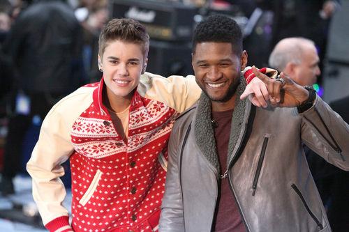 Usher entdeckte Justin Bieber vor fünf Jahren