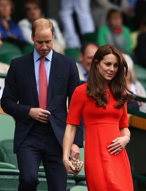 Herzogin Kate und Prinz William stehen immer in der Öffentlichkeit