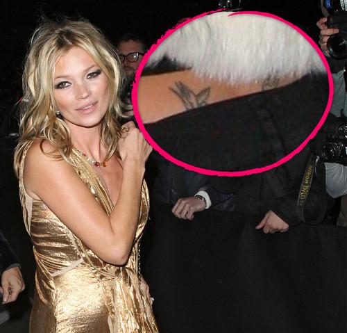 Hat Kate Moss das teuerste Steißtattoo der Welt?