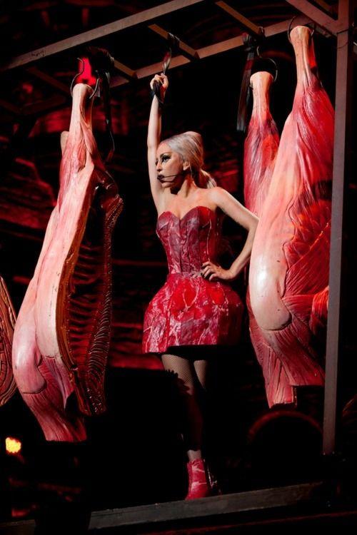 Lady GaGa betonte einmal im Fersehen, sie hasse Pelz und würde diesen nie tragen