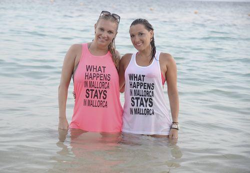 Magdalena Brzeska und Simone Ballack wurden überfallen