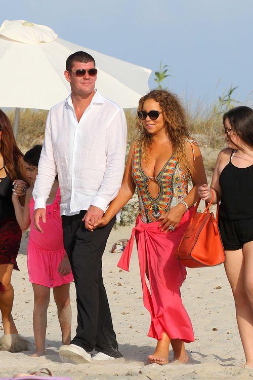 Mariah Carey und James Packer urlauben auf Formentera