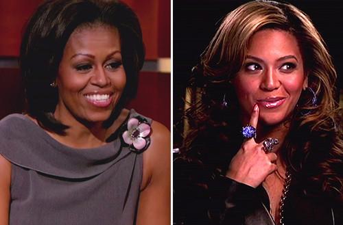 Zwischen Michelle Obama und Beyonce scheint sich eine neue Brieffreundschaft anzubahnen