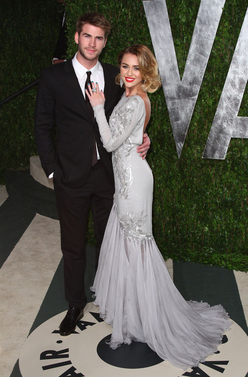 Miley Cyrus und Liam Hemsworth haben sich verlobt
