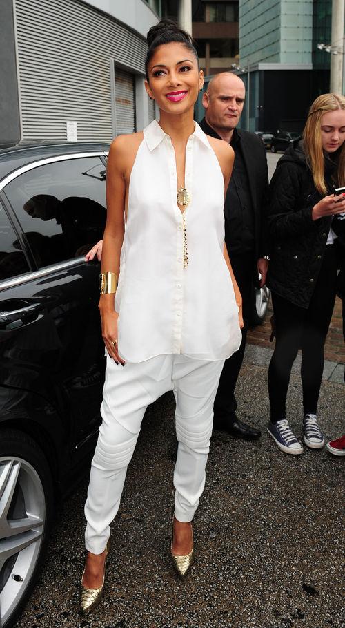 Nicole Scherzinger zeigte sich ungewohnt lässig bei The X-Factor