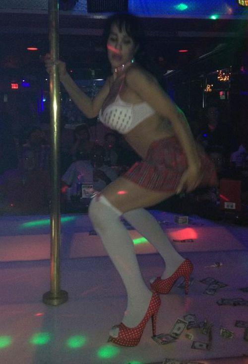 Octomom gab ihr Debüt als Stripperin