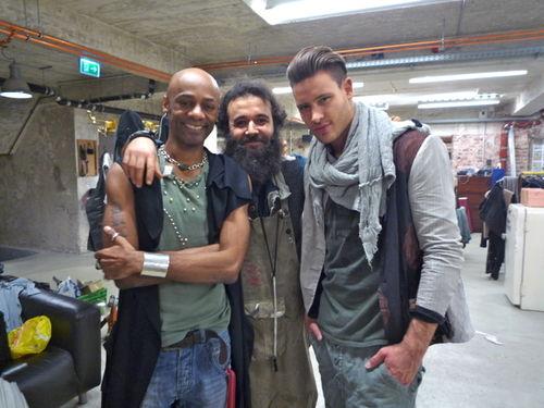 Percival und Marc Eggers lieben die Mode von Senso Unico