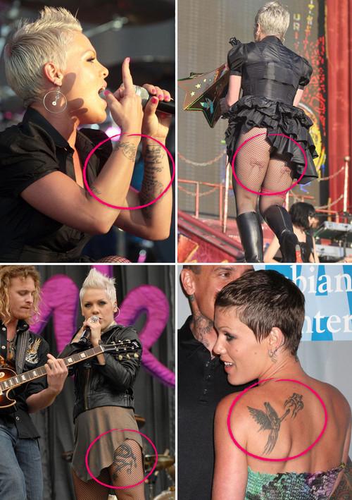 Pink's Tattoos