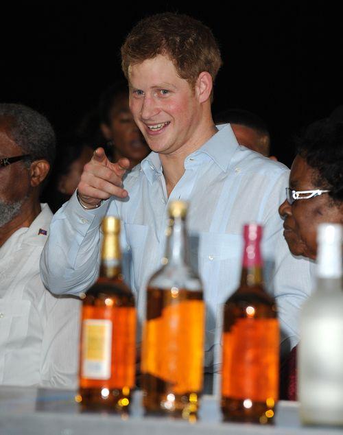 Prinz Harry ist Partys nicht abgeneigt