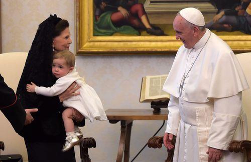 Prinzessin Leonore hatte ihre erste Audienz beim Papst