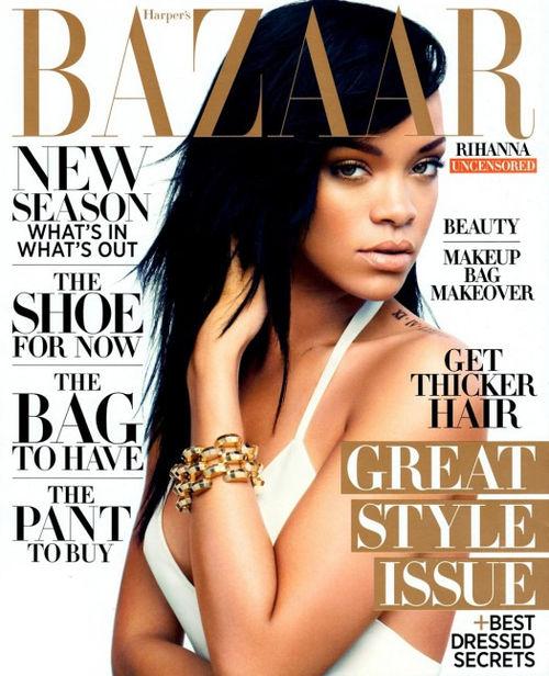 Rihanna ziert das Cover der Haper's Bazaar