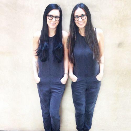 Rumer Willis und Demi Moore könnten Zwillinge sein