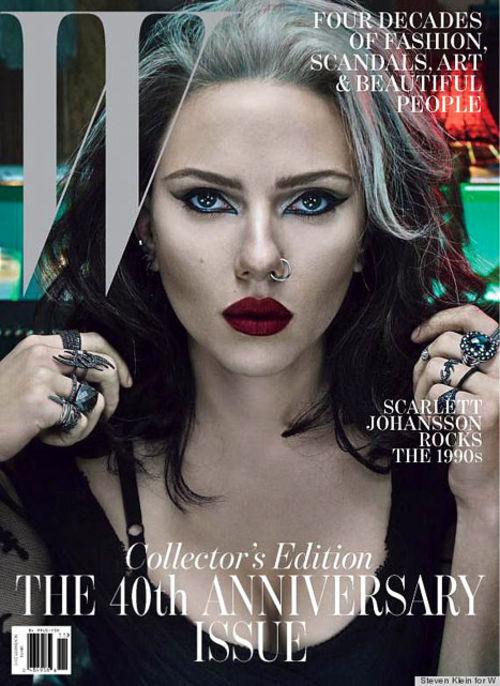 Scarlett Johansson ist aktuell auf dem Cover des W-Magazins zu sehen
