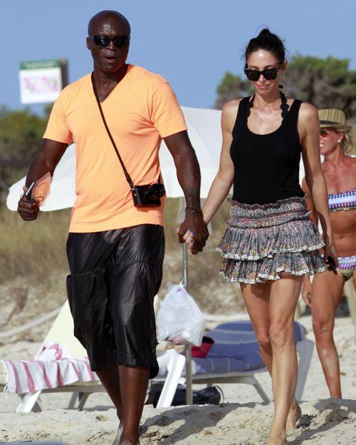 Seal und Erica Packer sind ein Paar