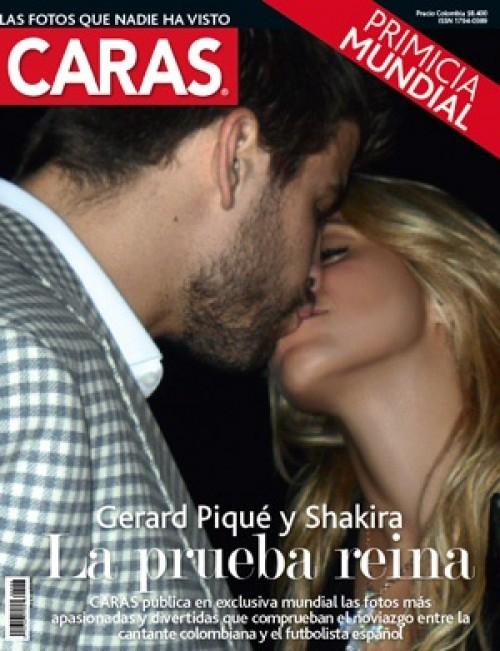 shakira y pique beso. Shakira, Gerard Piqué - El