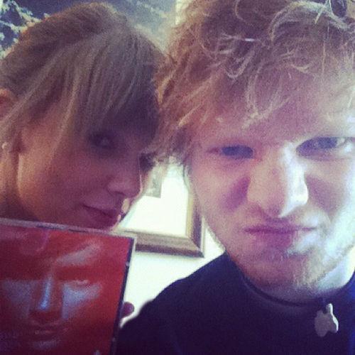 Taylor Swift und Ed Sheeran schätzen sich gegenseitig als Musiker und als Menschen