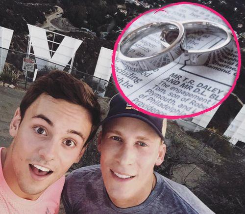 Tom Daley und sein Freund Dustin Lance Black werden heiraten