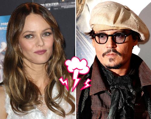 Die Beziehung von Vanessa Paradis und Johnny Depp soll kurz vor dem Aus stehen