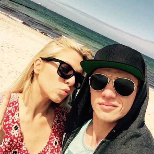 Vincent und Valentina sind gerade an der Ostsee