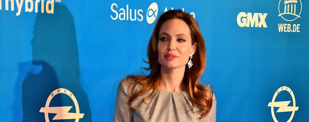 Angelina Jolie bei der Cinema for Peace Gala