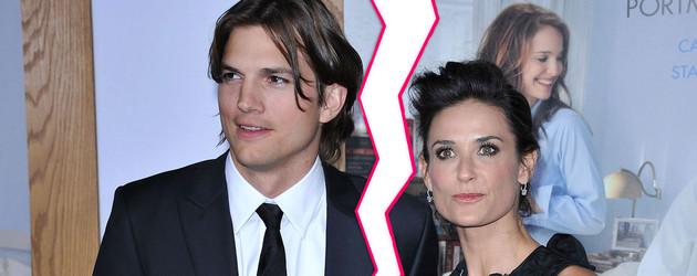Ashton Kutcher und Demi Moore Scheidung?