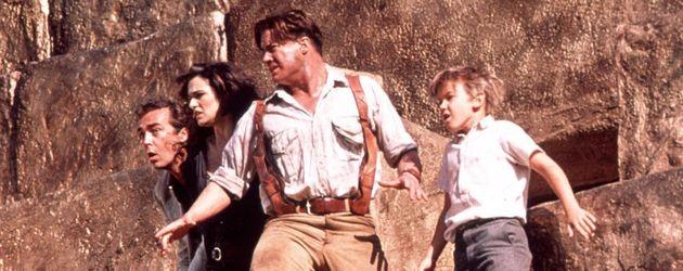 """Brendan Fraser mit Rachel Weisz in """"Die Mumie kehrt zurück"""""""