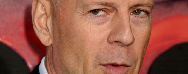 Bruce willis mit Glatze