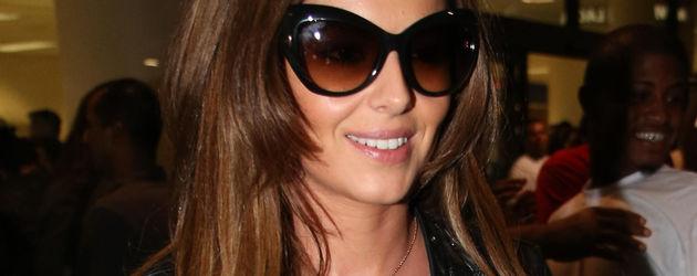 Cheryl Cole am Flughafen in Los Angeles