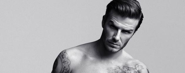 David Beckham in Unterhose
