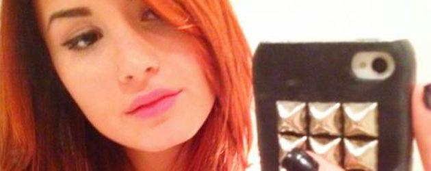 Demi Lovato mit roten Haaren