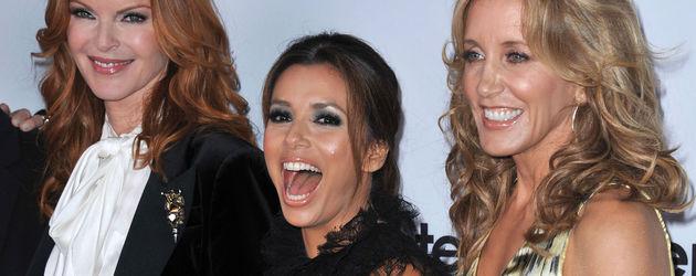 Desperate Housewives: Eva Longoria, Marcia Cross und Felicity Huffman freuen sich