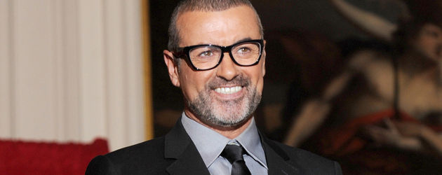 george Michael mit Brille