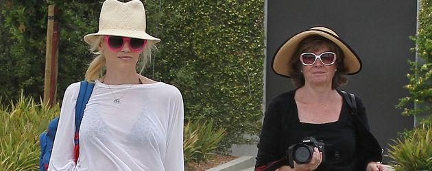 Gwen Stefani im Urlaub mit Freunden