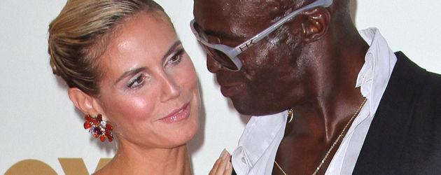 Heidi Klum himmelt Seal an